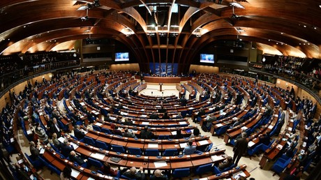 Delegates at a plenary meeting held as part of the winter session of the Parliamentary Assembly of the Council of Europe (PACE) © Vladimir Fedorenko