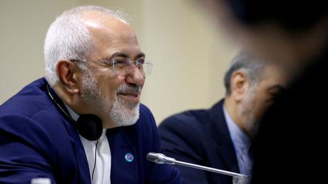 Iranian Foreign MInister Mohammad Javad Zarif © Feline Lim