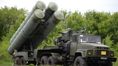 FILE PHOTO: S-300 air defense system © Uliana Solovyova