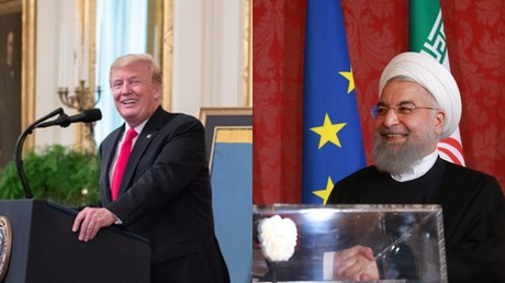 Bromance brewing? Trump is sure Iran's Rouhani is 'a lovely man'