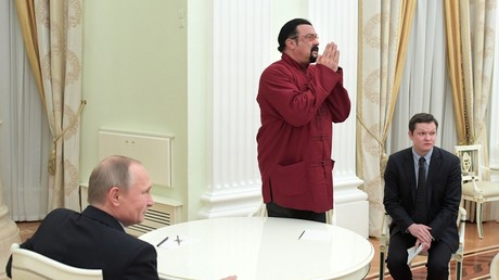 Steven Seagal says he is Putin's man, wouldn't mind ruling Russia's Far East region