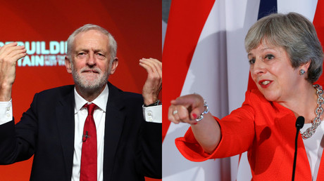UK general election looming? Corbyn challenges May to run-off should her Brexit plans go awry