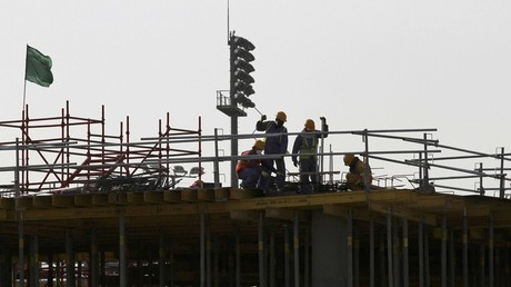 Migrant workers in Qatar World Cup city 'owed thousands of dollars in wages'