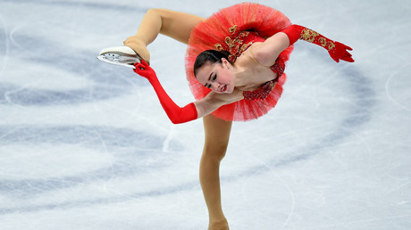 Russian figure skater Zagitova breaks short program world record