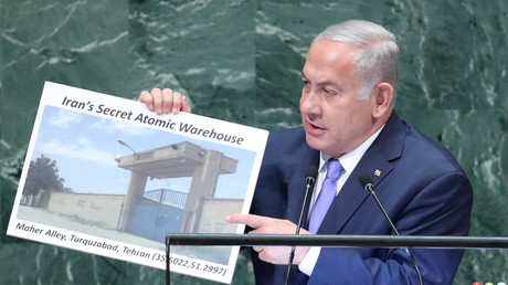 Israel's Netanyahu claims Iran has a 'secret atomic warehouse in Tehran'