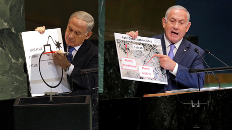 Pictionary diplomacy: Bibi's passion for presentations (VIDEO)