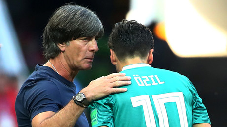 'He doesn't want to talk to us' - Germany manager Low on Ozil Arsenal snub