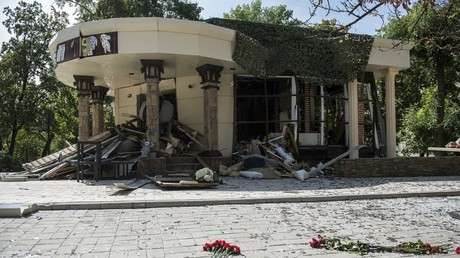 CCTV footage of explosion that killed Donbass leader released (VIDEO)