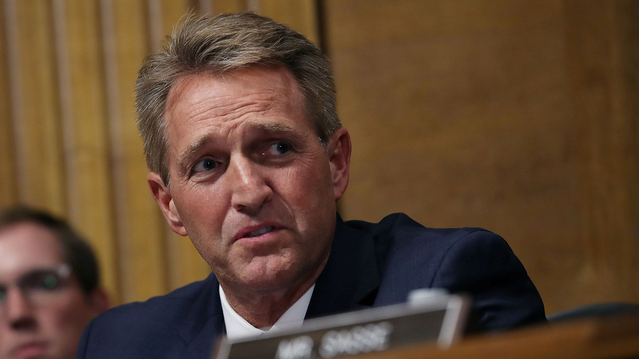 Sen. Flake says 'not a chance' he'd ask for FBI probe into Kavanaugh if he was seeking re-election