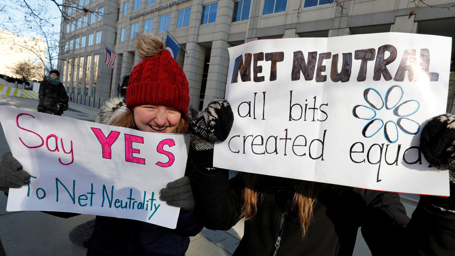 Trump administration sues California over hours-old net neutrality bill