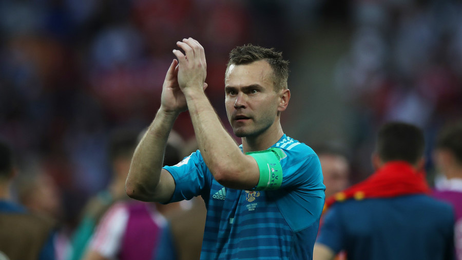 Russian World Cup hero Igor Akinfeev calls time on international career
