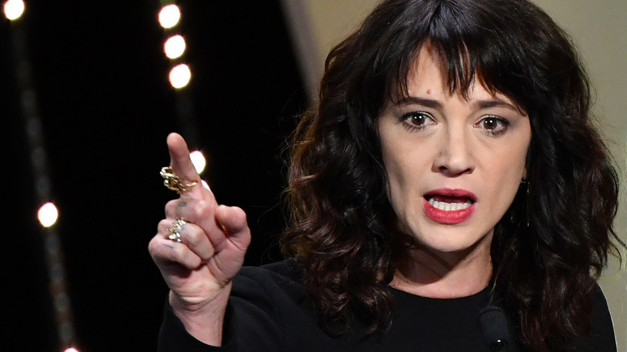 Asia Argento speaks on sex assault accuser