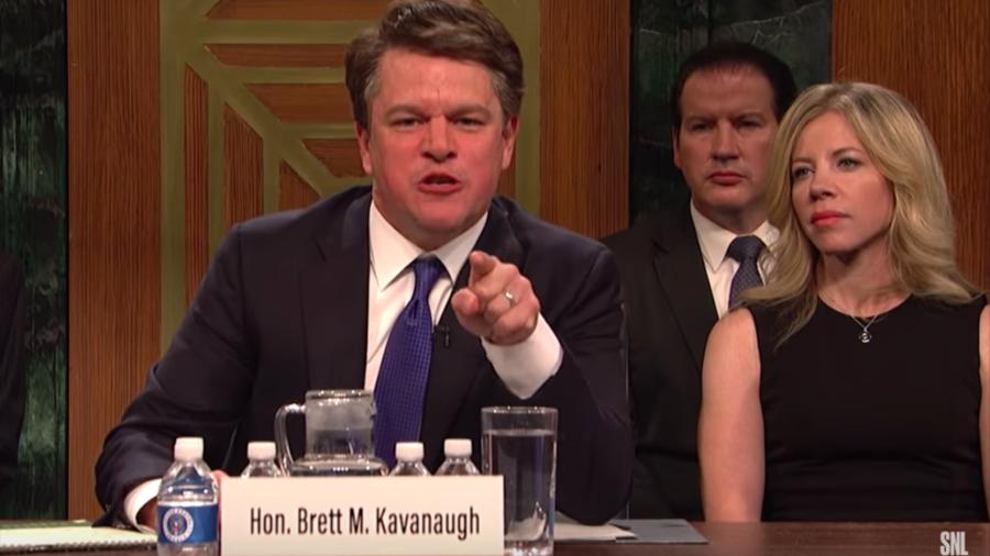 'Predator apologist': Matt Damon accused of hypocrisy over Kavanaugh SNL skit. But was it justified?
