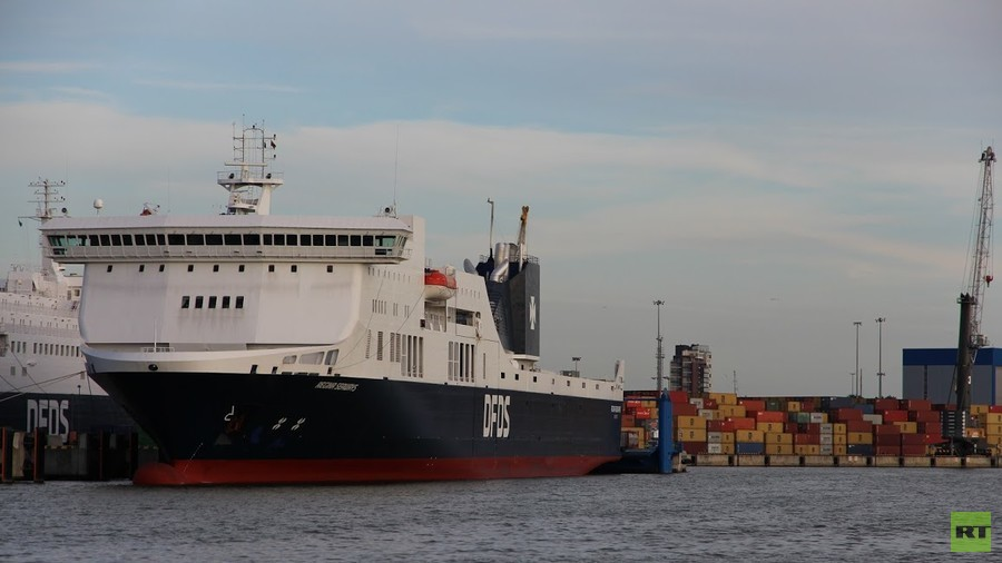 Ferry with 300 passengers stranded in Baltic Sea after engine room 'explosion'