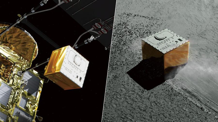 Touch down! European-made lander reaches Ryugu asteroid