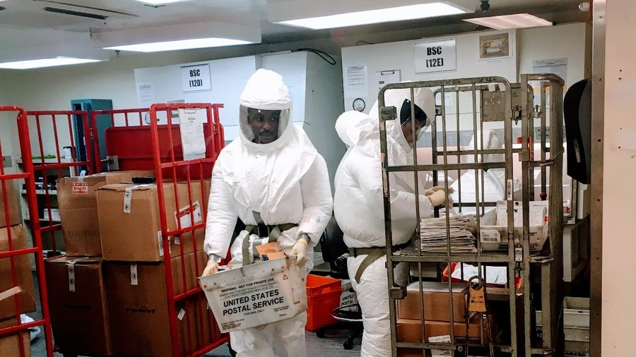 'Ex-Navy sailor' behind Pentagon ricin package scare