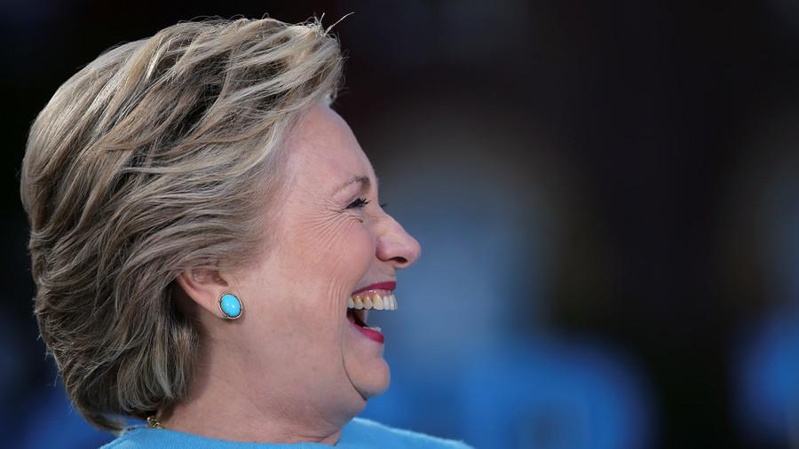 Twitter slams Hillary's 'bombastic laugh' in reaction to Kavanaugh's 'revenge' claim