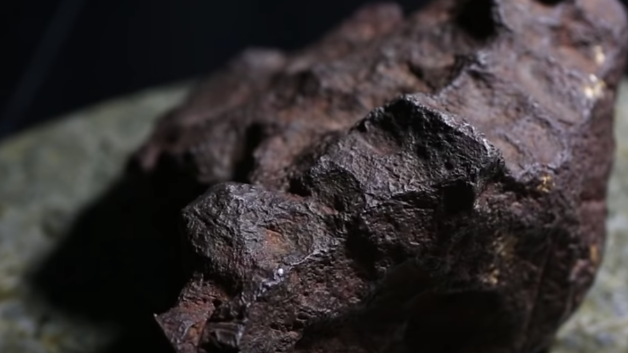 Rock used as doorstop is actually a meteorite worth $100K