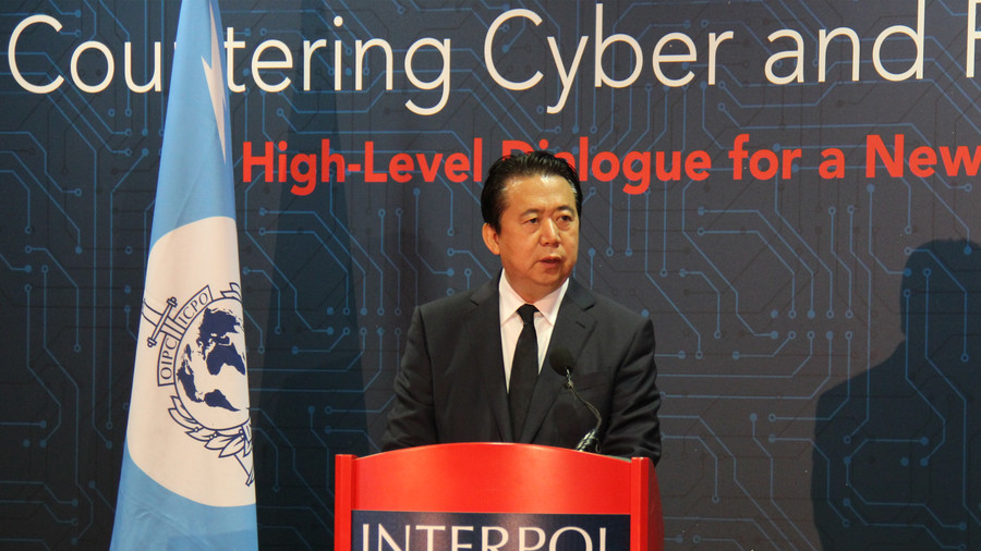 Interpol chief missing after trip to China