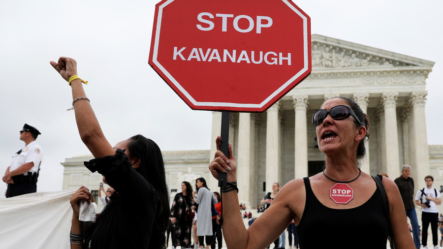 164 arrested at Capitol steps amid desperate attempt to block Kavanaugh confirmation (VIDEOS)