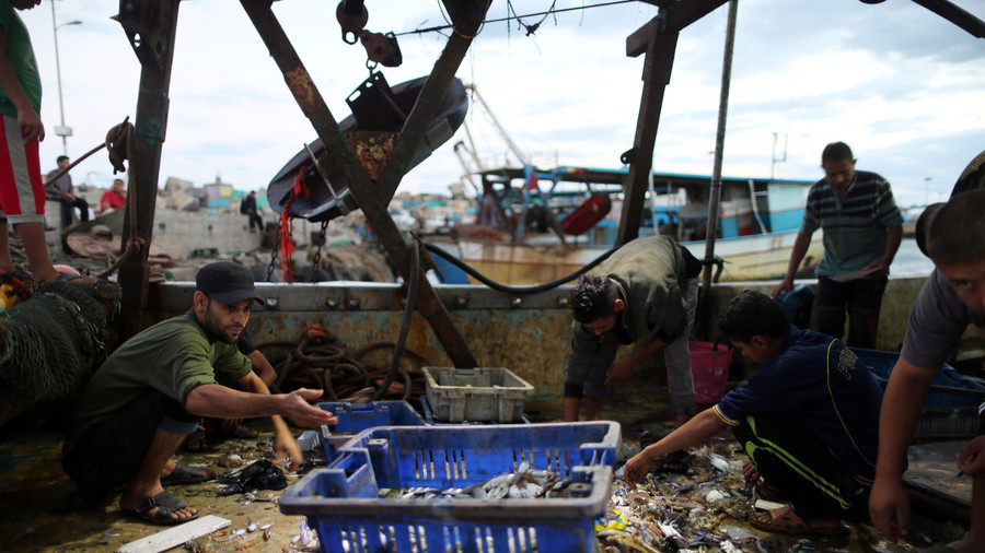 Israel slashes Gaza fishing zone by 33% in retaliation for weekly protests