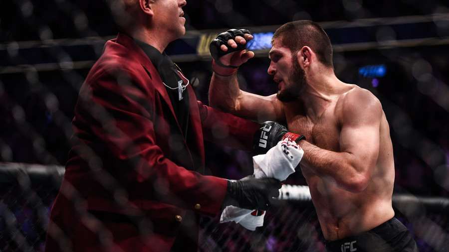Khabib could be stripped of title over mass brawl at UFC 229 – Dana White