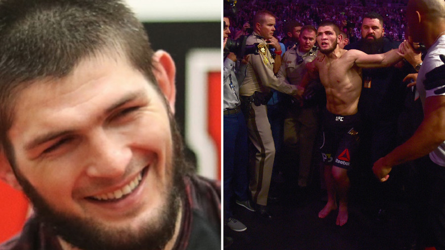 'My face when they say they didn't like my jump' - Khabib posts 'apology' for UFC fracas