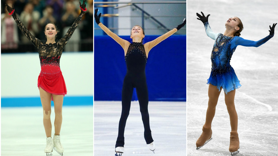 The quad generation: Russian teen stars out to oust Zagitova