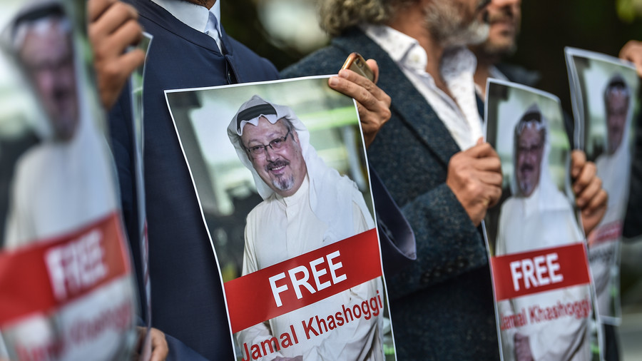 Supporters of missing Saudi journalist rally for his 'release'