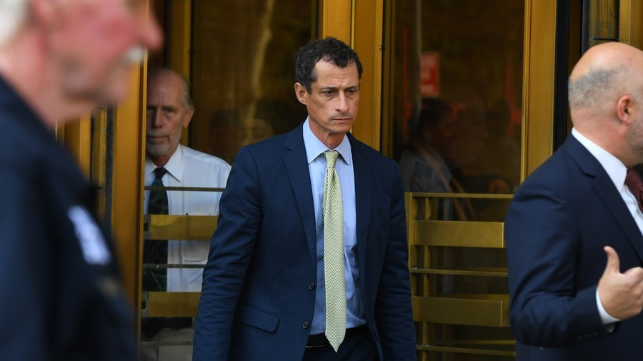Teen-sexting Democrat ex-congressman Weiner to walk out of prison early