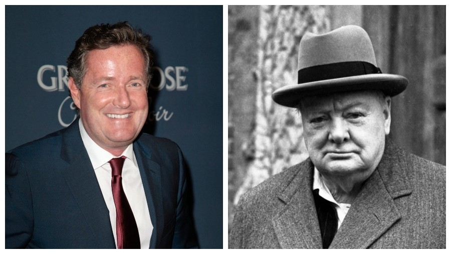 'Churchill was an imperialist racist': Piers Morgan clashes with professor live-on-air