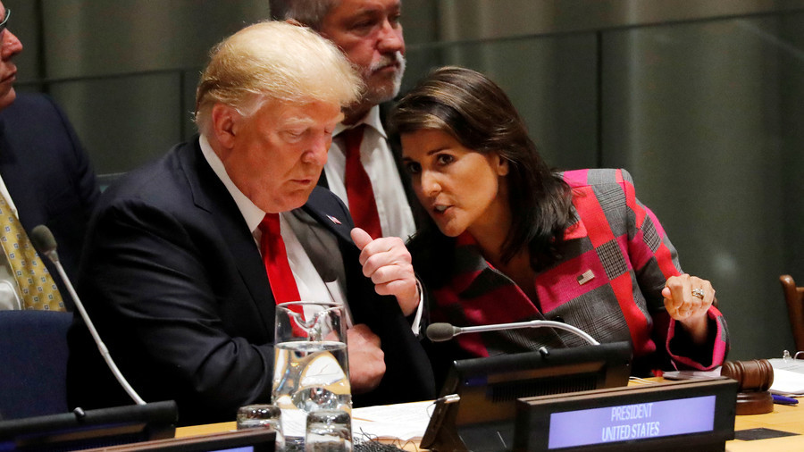 Haley says she will not be running in 2020, will campaign for Trump