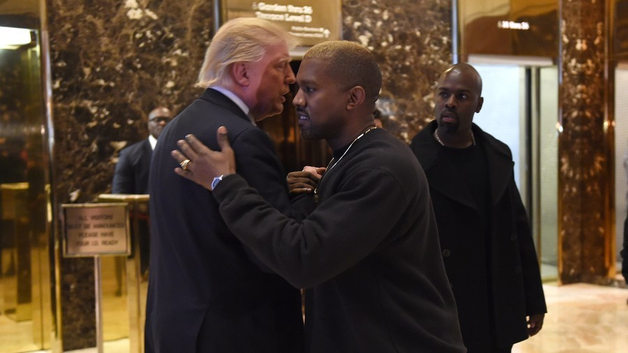 Kanye West scores dinner date with Trump as rapper plunges headlong into politics