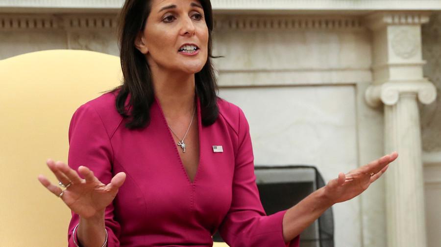 Nikki Haley's shock resignation prompts various theories
