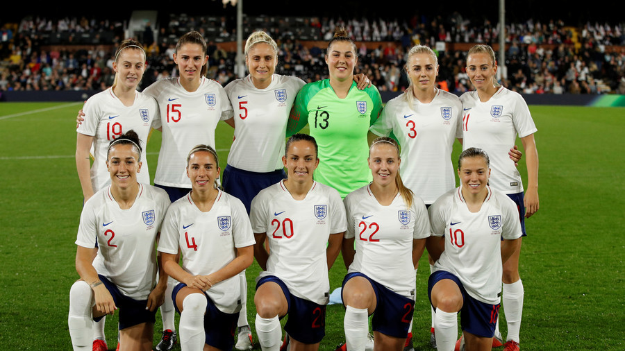 'Scrub up well, don't they?' English FA faces sexism claims over women's team tweet