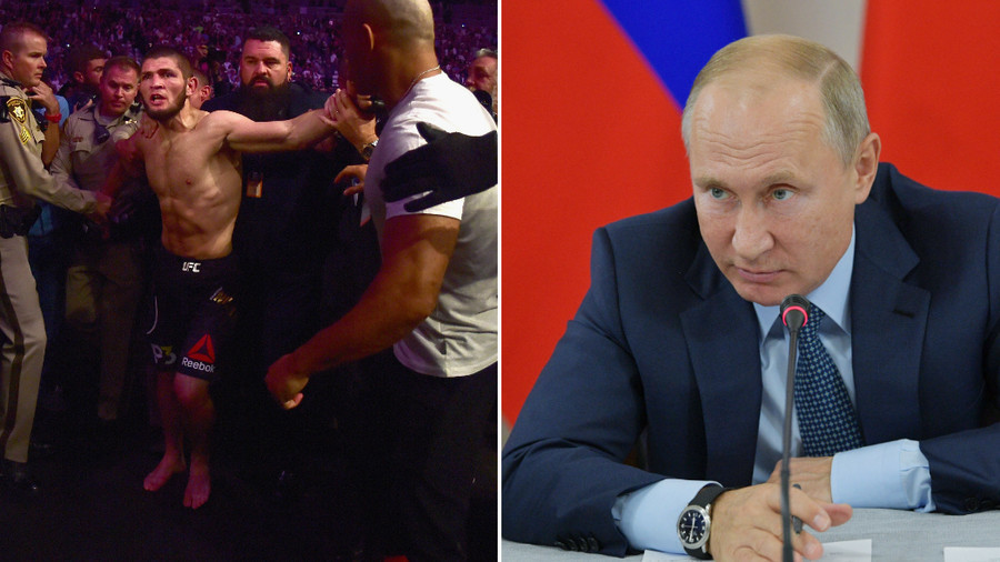 Putin to Khabib on UFC brawl: 'When someone provokes us from outside, there can be hell to pay'