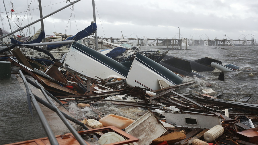 Hurricane Michael claims 1st victim as it leaves path of destruction in Florida