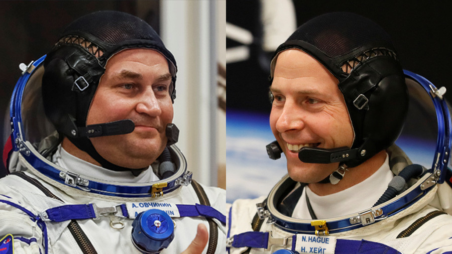 Russian-US ISS crew makes emergency landing Who are Alexey Ovchinin and Nick Hague