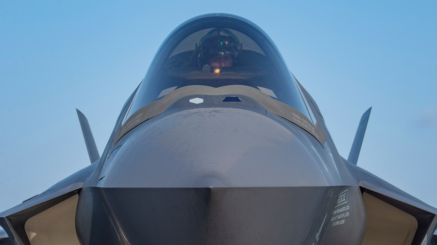 us military grounds its entire fleet of f 35 fighter jets in the