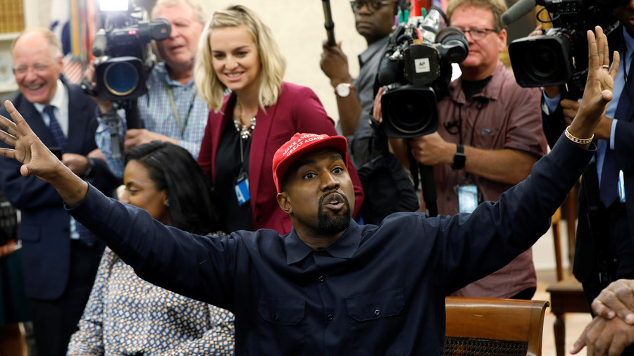 'I love him!' Kanye West takes over Oval Office in curse-filled meeting with 'hero' Trump (VIDEOS)