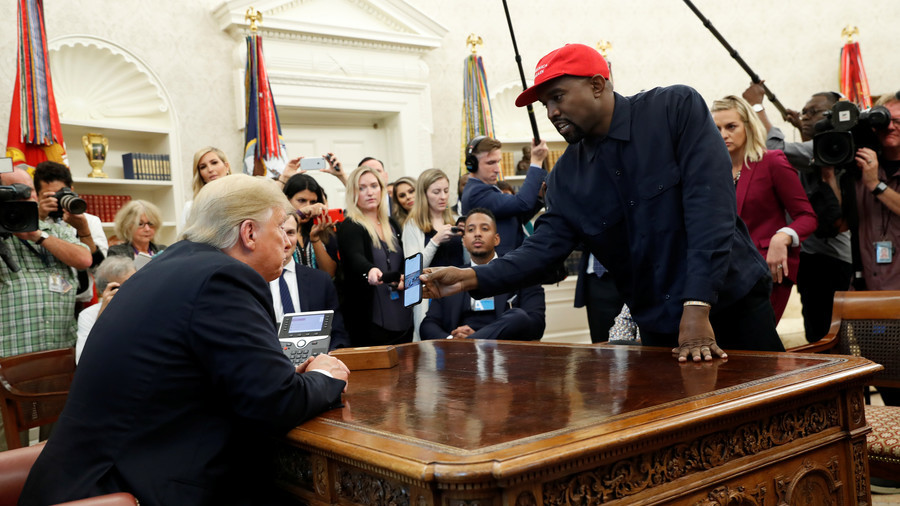 'I can see it': Trump doesn't rule out hitting 2020 campaign trail with 'genius' Kanye West