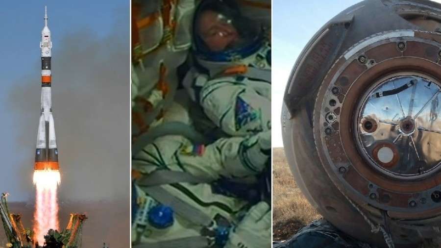 Emergency escape at 6000 km/h: How near miss Soyuz rocket accident unfolded (PHOTOS, VIDEO)