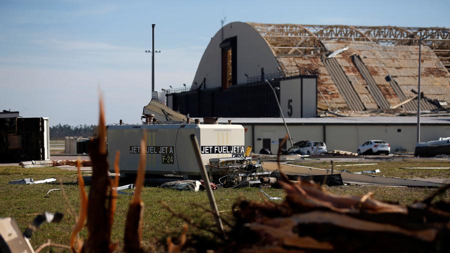 'Widespread catastrophic damage': Hurricane Michael ravages Florida Air Force base (PHOTOS)