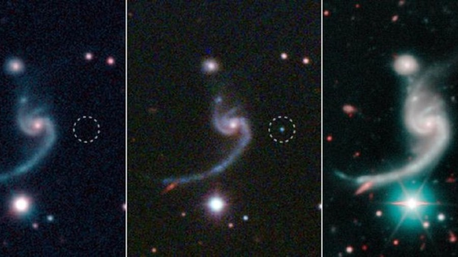 Scientists find dying star siphoned off by its unseen companion