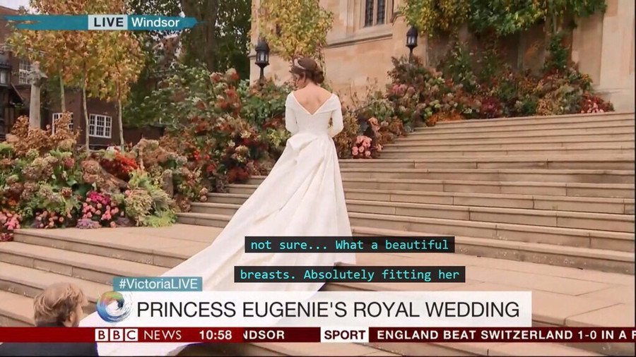 'Beautiful breasts': BBC News fails royally with cringe subtitle gaffe