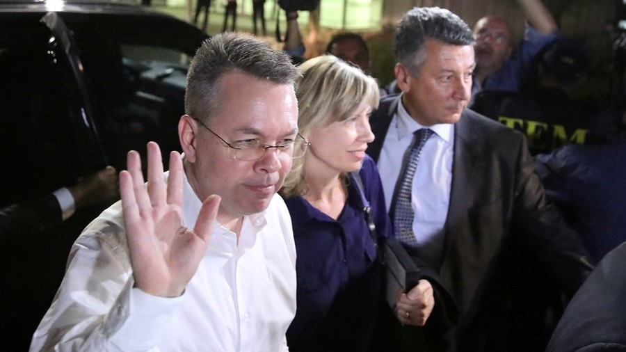 'No deal' behind pastor Brunson's release from Turkey – Trump