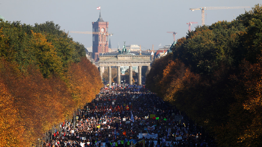 Massive protest against right-wing surge hits Berlin as ethnic tensions boil over in Germany