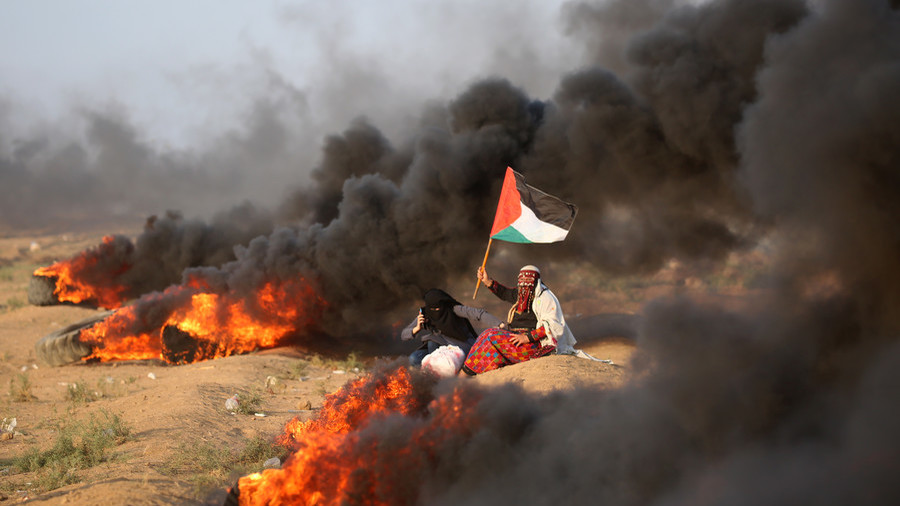 Israeli fire wounds 32 Palestinians in Gaza beach protest