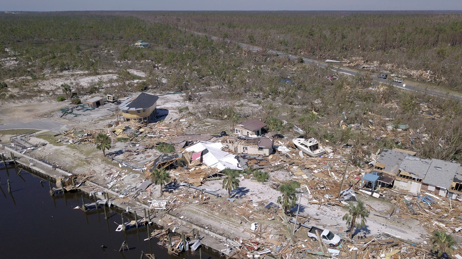 Hurricane Michael Damaged a Bunch of F-22s