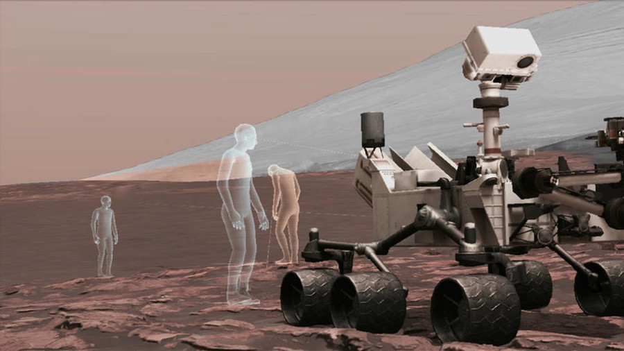Is this 'life on Mars'? New project makes walking on red planet a virtual reality (VIDEO)